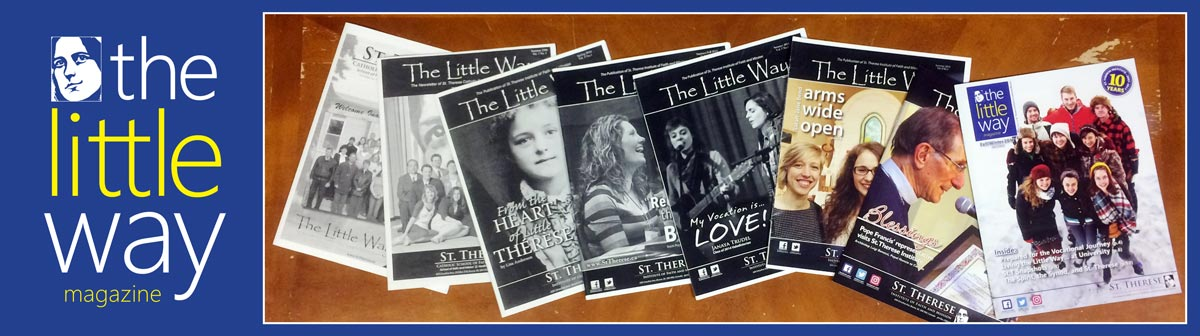 BANNER The Little Way Magazine