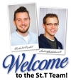 Welcome to the St.T Team! Nicholas Pierlot and Andrew Hildebrandt