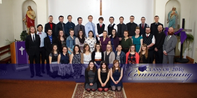 Commissioning of the Class of 2016