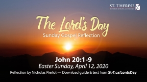 """The Lord's Day"" Gospel Reflection for March, 29, 2020, 5th Sunday of Lent (John 11: 1-45)"