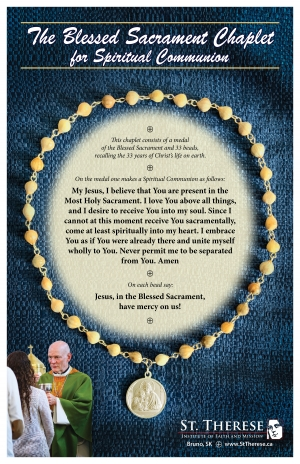 Blessed Sacrament Chaplet / Spiritual Communion