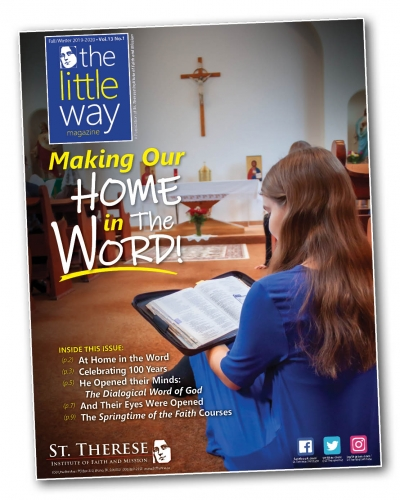 The Little Way Magazine - Fall 2019 / Winter 2020