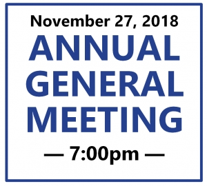 Notice of Annual General Meeting 2018