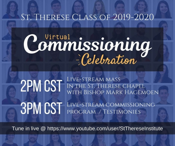 St. Therese Class of 2019-2020 (virtual) Commissioning Celebration